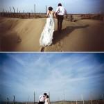 80后韩式复古文艺范个性婚纱照