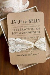 rustic wedding invitation2