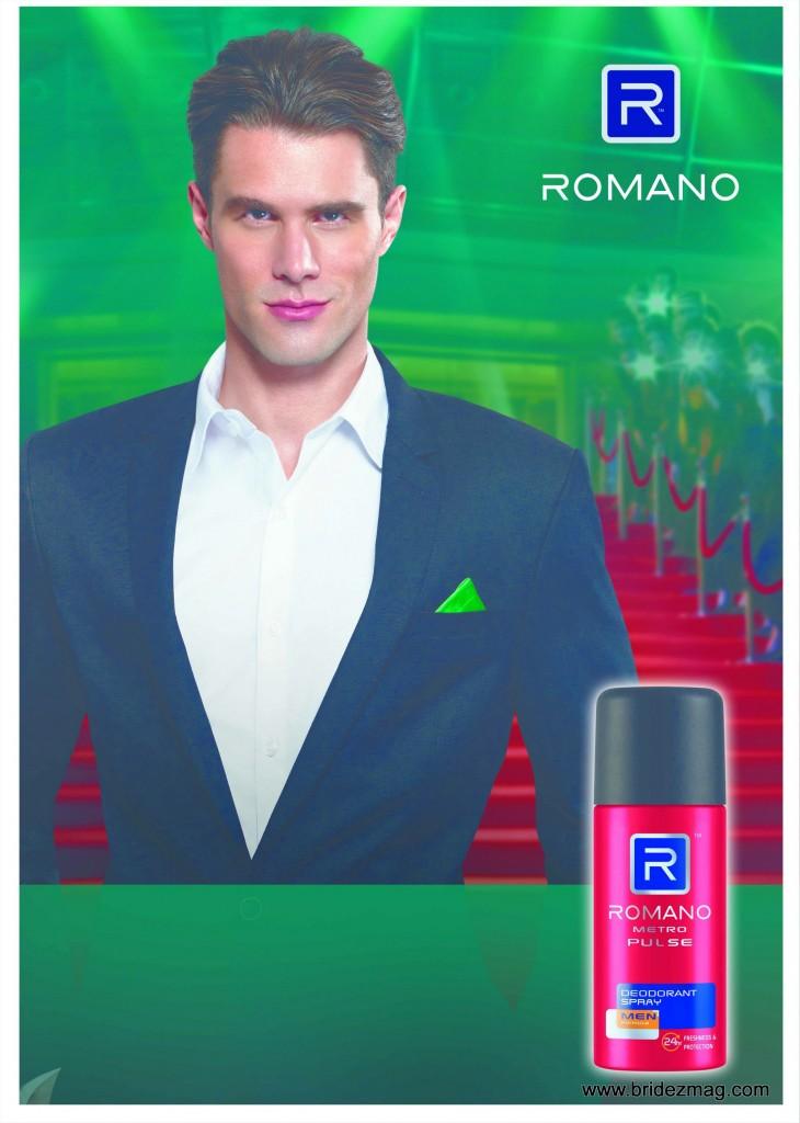 Romano Man Deodorant
