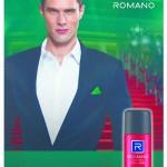 Romano 新推出男装清香喷雾剂 ,象征着信心和实用性的男性佳品