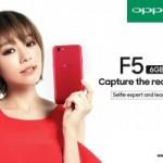 OPPO隆重推出红、黑两种色款的F5 6GB 与马来西亚施华洛世奇推出全新限量版手机外壳